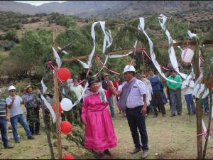 Ayacucho: Inician construcción de centro de salud en centro poblado San Francisco de Pujas