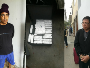 Capturan a presuntos narcotraficantes que acopiaban droga en el Vraem