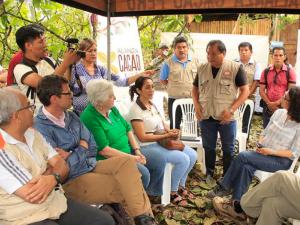 Huánuco: Altos funcionarios de EE.UU. visitan el Monzón