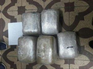 Leoncio Prado: Hallan más de catorce kilos de marihuana