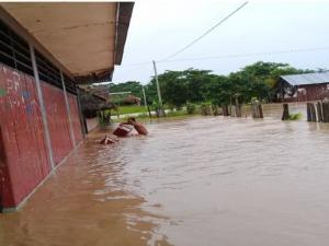 Loreto: Inundación de tres escuelas afecta a 150 niños en Alto Amazonas