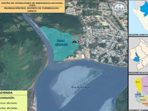Loreto: Reubicarán a familias afectadas por inundaciones en Yurimaguas