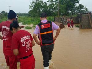 Monitorean daños y respuesta tras inundación en Puerto Maldonado