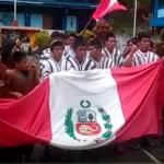 Vraem: Niños asháninkas expresan apoyo al jugador Paolo Guerrero