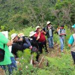 Periodistas ayacuchanos visitan los proyectos de desarrollo en el Vraem