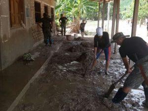 Picota: Reinicio de clases se dará este jueves tras limpieza de escuelas inundadas