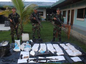 Policía decomisan115 kilos de cocaína en el Vraem