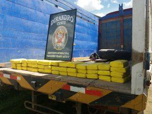 Policía detuvo narcotraficantes en el Cusco