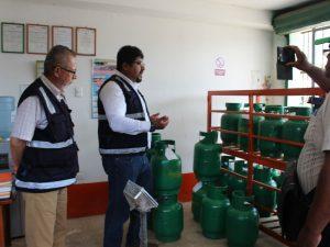 Puerto Maldonado: Disponen que etiquetados de balones de gas sea obligatorio