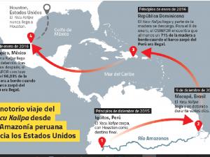 Revelan audios encubiertos en el mayor escándalo maderero del Perú