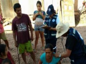 San Martín: 500 atenciones del Minsa en localidades Shamboyacu y Tres Unidos