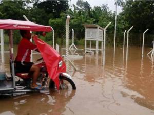 San Martín: Fuertes precipitaciones aumentan caudal de ríos Cumbaza y Huayabamba