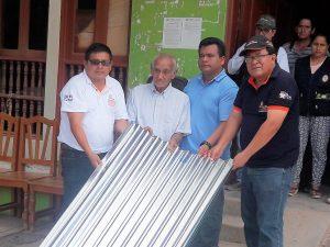 San Martín: Gobernador regional visitó zonas afectadas por inundaciones