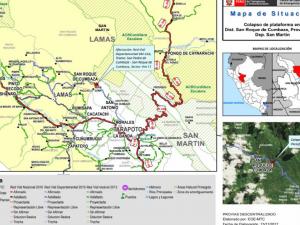 San Martín: Tránsito restringido por limpieza en tramo Morales – San Pedro