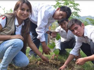 Se realizaron varias actividades en el Vraem por la Semana Forestal Nacional 2017