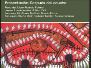 Alistan conversatorio y presentación de texto sobre Amazonía en Feria del libro
