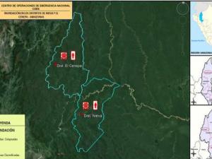 Amazonas: Entregarán ayuda humanitaria a pobladores de El Cenepa