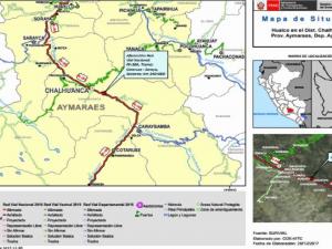 Apurímac: Tránsito interrumpido por huaico en tramo Cotaruse – Soraya