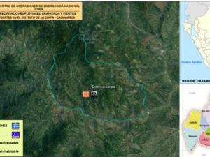 Cajamarca: Entregan tres mil calaminas a damnificados por lluvias y granizada
