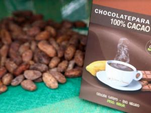 Chocolate de taza al 100% de cacao rinde tres veces más que el de corte comercial