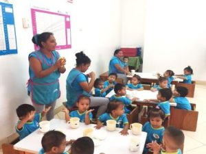 Construyen nuevo local para la atención de infantes en Pucallpa