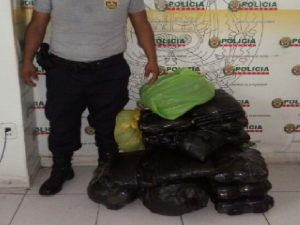 Decomisan 40 kilos de hoja de coca en Leoncio Prado