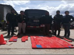 Decomisan más de 100 kilos de cocaína en Puno