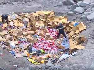 Incineran más de siete toneladas de productos pirotécnicos ilegales