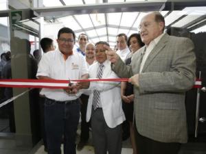 Ministro Fernando D'Alessio inauguró nuevo hospital en la región San Martín