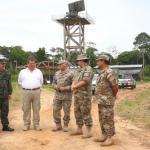 Ministro Nieto supervisó ejercicio de interceptación de aeronave ilegal en Madre de Dios