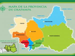 Heridos por lluvias y desprendimiento de roca fueron atendidos en Oxapampa