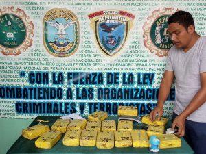 Policía decomisó cargamento de cocaína en el Vraem