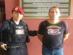Policía interviene tres requisitoriados en Leoncio Prado