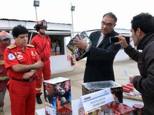 Sucamec resalta penas por comercialización ilegal de pirotécnicas