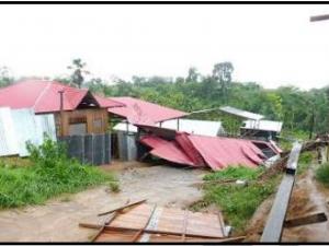 Ucayali: Limpian de árboles caídos y viviendas afectadas por vientos fuertes