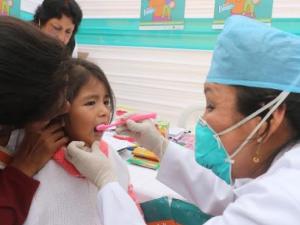Lanzan campaña para combatir caries infantil en Pasco, Puno y Apurímac