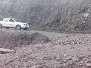 Apurimac: Restablecen vía en distrito de San Antonio de Cachi