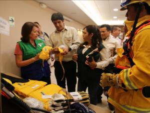 Chiclayo: Instalan primer centro de brigada contra incendios forestales