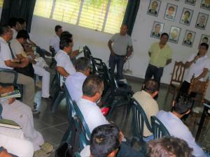 Divulgan medidas para combatir plagas que afectan cultivos de cacao en San Martín