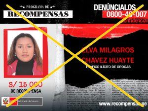 Capturan a requisitoriados por tráfico de drogas en Tacna e Ica