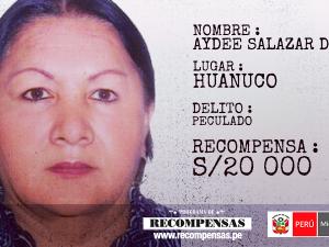 Hay más de 30 requisitoriados del Programa de Recompensas en Huánuco