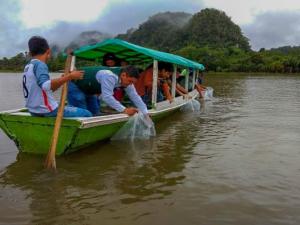 Huánuco: Repueblan laguna Los Milagros con 3 500 alevinos