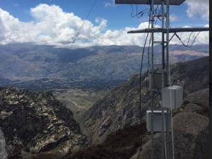 Huaraz: Presentan sistema de monitoreo en tiempo real de la laguna Palcacocha