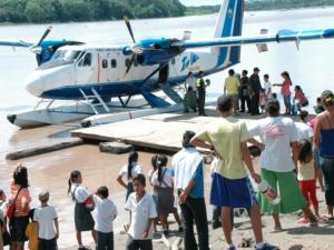Implementan vuelos para facilitar servicios a comunidades rurales de la Amazonía