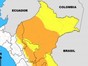 Lluvias continuarán hasta el 17 de enero en las regiones selváticas
