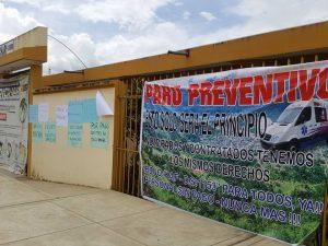 Cusco: Micro Red de Salud Pichari realizó paro preventivo