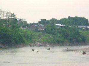 Río Huallaga desciende su nivel y permanece en alerta naranja en Yurimaguas