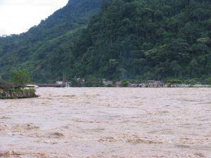 Río Huallaga próximo a alcanzar estado de alerta roja