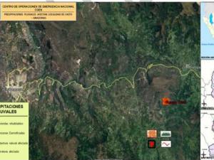 Amazonas: Dan ayuda humanitaria a damnificados por desborde de río