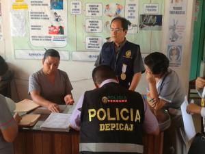 Fiscalía anticorrupción interviene establecimiento de salud en Satipo